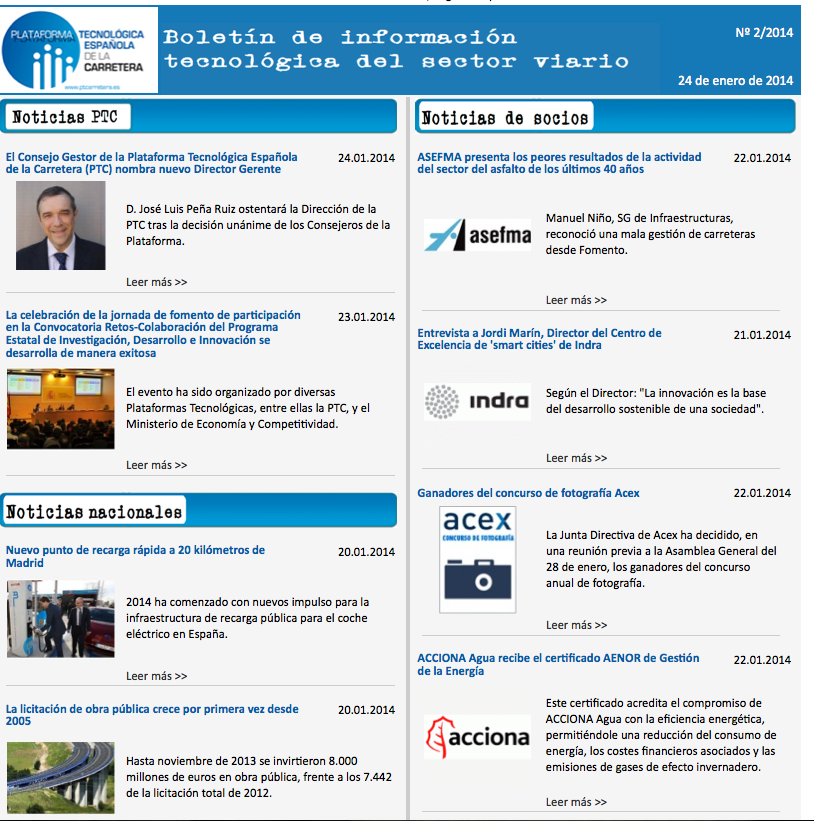 Boletín PTC 2/2014