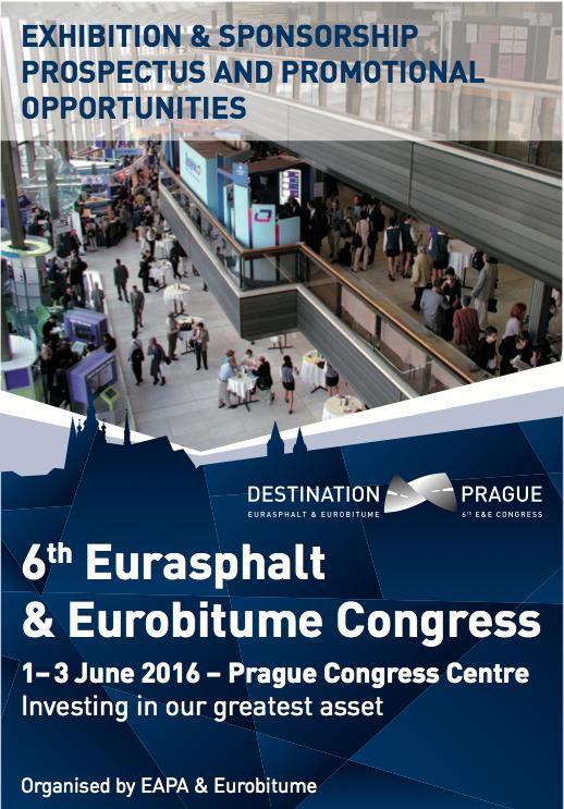 E&E Congress 2016 - Exhibition and Sponsorship Brochure
