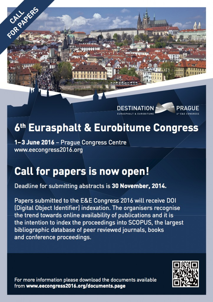 """Flyer """"Call for Papers"""" of the E&E Congress 2016"""