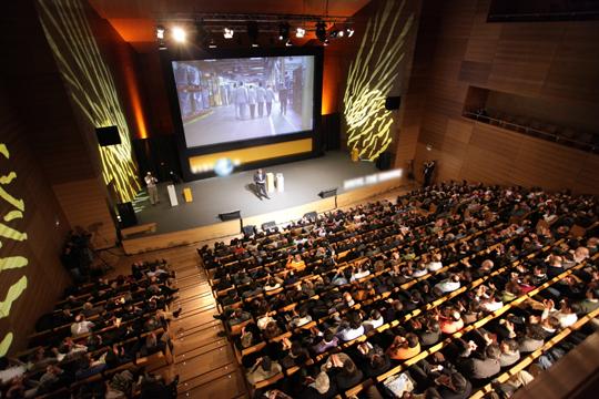 """Fotografía del Auditorio """"Miguel Delibes de Valladolid"""", perteneciente a la Asociación de Palacios de Congresos de España   Créditos: auditoriomigueldelibes.com"""