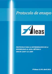 Portada_Protocolo_sensibilidad.Agua
