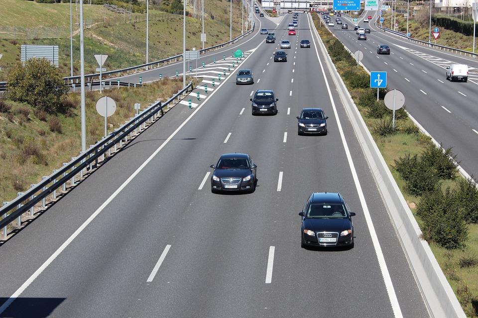 autopista en Madrid